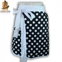 Buy cheap Promotion Gift Polyester / Cotton Kitchen Apron Personalised Aprons with Dot Printed from wholesalers