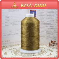 Buy cheap Multicolor Mercerized polyester filament thread / machine embroidery thread from wholesalers