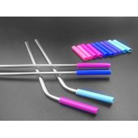 Buy cheap Stainless Steel Flexible Silicone Tubing Tasteless Food Grade Silicone Straw Color from wholesalers