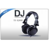 Buy cheap Noise Isolation Pro Stereo DJ Headphones  With Detachable Cord And Built-In Microphone  product