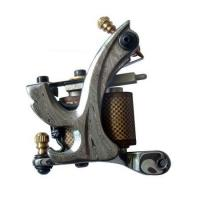 Buy cheap newest 10 wraps Damascus steel tattoo machine for liner and shader from wholesalers