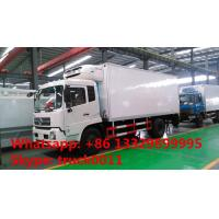 Buy cheap dongfeng tianjin 4*2 LHD Cummins 170hp/190hp diesel refrigerated truck for sale, hot sale dongfeng cold room truck from wholesalers