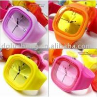 Buy cheap Jelly silicone watch from wholesalers