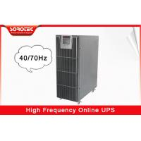Buy cheap 6KVA / 5.4W 220VAC High Frequency Online UPS / Uninterrupted Power Supply from wholesalers