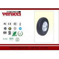 Buy cheap 4.00 - 8 14 Inch Rubber Tyred Wheels / Small pneumatic wheel  For Trolleys from wholesalers