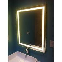 Buy cheap Hotel Lighted Makeup Mirrors Frameless Bathroom Vanity Led Mirror from wholesalers