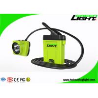 Buy cheap Rechargeable Warning Mining Cap Lights USB Charging IP68 Watetproof 530lum from wholesalers