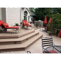 Buy cheap Anticorrosion Wood Plastic Composite Foam Decks Exterior Decking from wholesalers