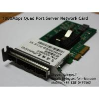 Buy cheap PCI Express x4 x8 x16, Quad Port 1000Mbps Server Network Adapter, SFP Slot LC Fiber from wholesalers