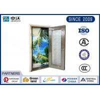 Single Open Stainless Steel Fire Rated Doors High Temperature Resistant