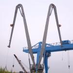 Buy cheap 1t@30m&2.5t@15m Marine Deck Crane Electrial Knuckle Boom Pedestal Crane from wholesalers