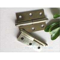 Buy cheap Ball Tip Nickel Plated Commercial Door Hinges Detachable Movable from wholesalers