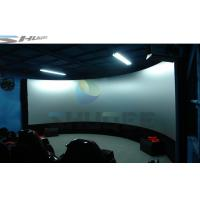 Buy cheap Hydraulic Air 4D Cinema System Dynamic Effects With Electric Chair product