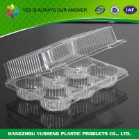 Buy cheap Rice Disposable Plastic Food Containers  Individual Cupcake Box With Inserts product