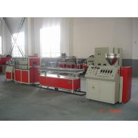 China Single Screw Extruder Pvc Profile Manufacturing Machine Eco Friendly For Window Seal on sale
