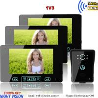 Buy cheap 2.4GHz digital apartment video door phone outdoor unit recorder from wholesalers