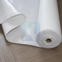Buy cheap 100% Polyester Soft White Nonwoven Felt Fabric Sheet from wholesalers