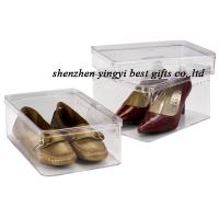 Buy cheap clear shoe box wholesale from wholesalers