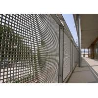 Buy cheap Round Hole Perforated Mesh Sheet Anti Corrosion 1050 Perforated Metal Panels from wholesalers