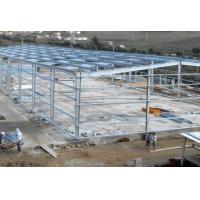 Buy cheap Hot - Dipped Galvanized Steel Frame For Garage With Colored Steel Roof /  Wall from wholesalers