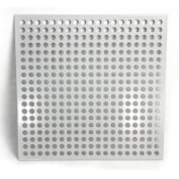 Buy cheap Galvanized All Colors Perforated Metal Sheet Customized Hole Shapes And Sizes from wholesalers