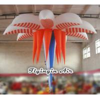 Buy cheap 3m Hanging Inflatable Flower for Wedding and Exhibition Decoration from wholesalers