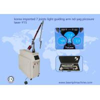 Buy cheap Korea imported 7joints light guiding arm 1064nm Q switch Nd yag Picosecond from wholesalers
