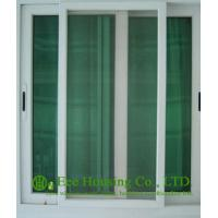 Buy cheap Double Glazing Aluminum Gliding Windows, Powder Coating Finished with white color from wholesalers