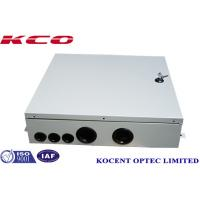 Buy cheap KCO-ODB-48A 48fiber Wall Mount Fiber Optic Distribution Terminal Box Indoor FTTH FTTB Outdoor from wholesalers