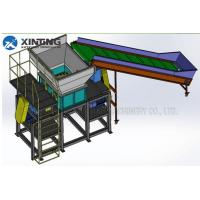 Buy cheap Industry Double Shaft Shredder , Plastic Waste Shredder Machine Blade SKD11 from wholesalers