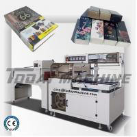 Buy cheap Semi Automatic POF PE Film Box Case Book Bottle Heat L Sealing Shrink Wrap Packaging Machine from wholesalers