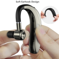 Buy cheap S190 Business Wireless Bluetooth 5.0 Headset In-Ear Hanging Sports Unilateral TWS Stereo Car Headset from wholesalers