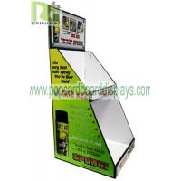 Buy cheap Light Duty Point Of Purchase Pos countertop Cardboard Display Articles For Daily Use cardboard counter display units from wholesalers