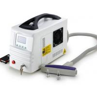 Buy cheap Portable Q-Switched ND Yag Laser Beauty Machine for Body birth mark, bottle nose , tattoo from wholesalers
