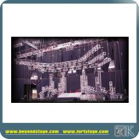 Buy cheap high quality aluminum truss/lighting truss for events party/factory price aluminum rotating lighting circle truss for sa from wholesalers