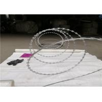 Buy cheap Unclipped Razor Ribbon Wire Razor Concertina Wire Coil Security Barrier from wholesalers