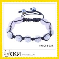 Buy cheap Fashion Crystal Shamballa Bracelet from wholesalers