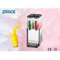 Buy cheap Portable Twin Juice Dispenser Machine / Electric Cold Drink Dispenser 12L x 2 from wholesalers