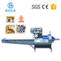 Buy cheap High Speed Bakery Packaging Equipment / Bread Bin Candy Pillow Pack Machine from wholesalers