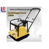 Buy cheap Asphalt Ground Compactor Hire , CE Gasoline Vibro Compactor Machine 65 - 90 kg Weight product