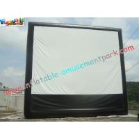 Buy cheap Large Inflatable Projection Screen Outdoor Movie Theater For Christmas Decorations from wholesalers