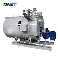 Buy cheap Low pressure 4t/h gas oil fired steam boiler for Dyeing industry from wholesalers