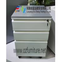 Buy cheap Mobile pedestal with drawer FYD-H005,H570XW380X500D mm,white color,5 wheels from wholesalers