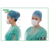 Buy cheap Lightweight Disposable Face Mask 3ply With Ear Loop , Poly Cellulose Materials from wholesalers
