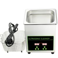 Buy cheap Custom Ultrasonic Fuel Injector Cleaning Machine Small Ultrasonic Cleaner 2L from wholesalers