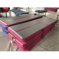 Buy cheap High Quality Durable Cheap inflatable air tumble gymnastic track from wholesalers