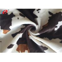 Buy cheap Animal Skin  Print 100 % Polyester Velvet Fabric Sofa Cover Textile Material from wholesalers