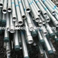 Buy cheap Building Materials Hot dip galvanized pipe/mild steel pipe in stock 8 inch from wholesalers