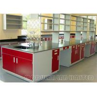 Buy cheap Single Way Faucet Modular Laboratory Furniture Science Lab Wall Cabinets from wholesalers