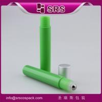 Buy cheap china supplier pharmaceutical plastic anti-itch green roll on bottle 5ml perfume bottle from wholesalers